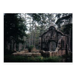 The Patriot Movie Cypress Swamp Camp Postcard