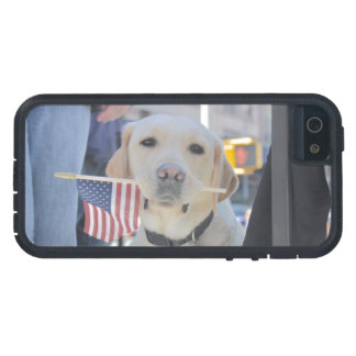 The Patriotic Dog iPhone 5 Covers