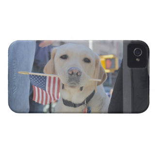 The Patriotic Dog iPhone 4 Cases