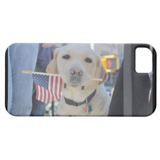 The Patriotic Dog iPhone 5 Cover
