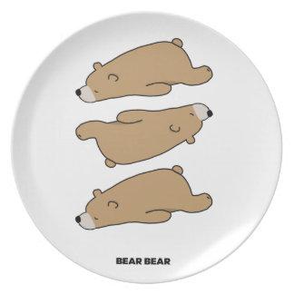 THE PATTERN - BEAR BEAR PLATE