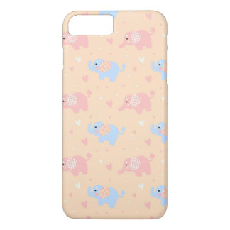 The Patterned Ear Elephant iPhone 8 Plus/7 Plus Case