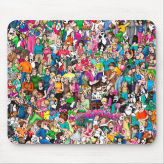 """""""The Pattersons"""" Mouse Pad"""