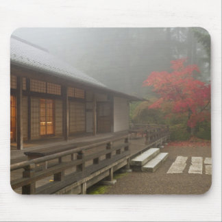 The pavilion at the Portland Japanese Garden Mouse Mat