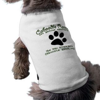 'The Paw Stops Here' Pet Shirt