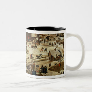 The Payment of the Tithe Two-Tone Mug
