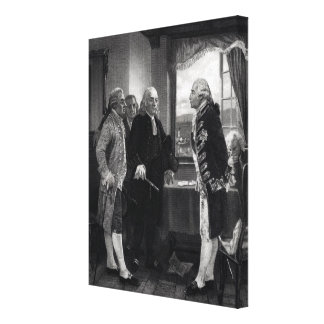 The Peace Conference on Staten Island Canvas Print