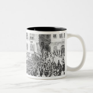The Peace of Nuremberg, 25th September 1649 Two-Tone Coffee Mug