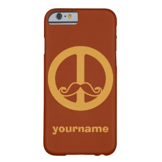 The Peace Stache custom cases
