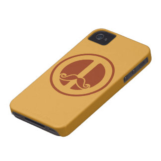 The Peace Stache custom iPhone case-mate