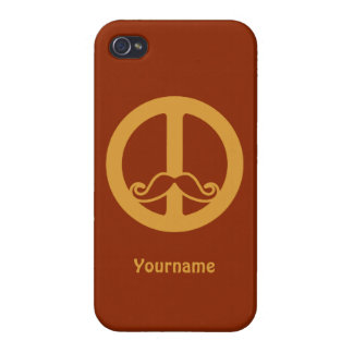 The Peace Stache custom iPhone cases