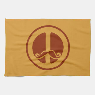The Peace Stache custom kitchen towels