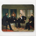 The Peacemakers by George Peter Alexander Healy Mouse Mat