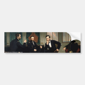 The Peacemakers with Abraham Lincoln Bumper Sticker