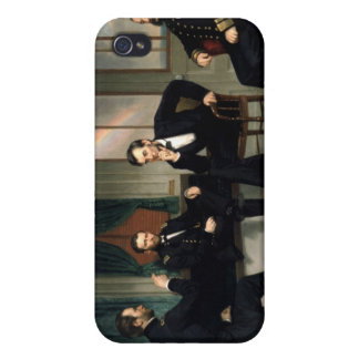 The Peacemakers with Abraham Lincoln iPhone 4/4S Cases