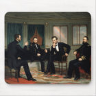 The Peacemakers with Abraham Lincoln Mouse Mat