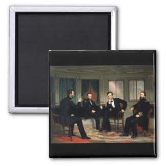 The Peacemakers with Abraham Lincoln Square Magnet