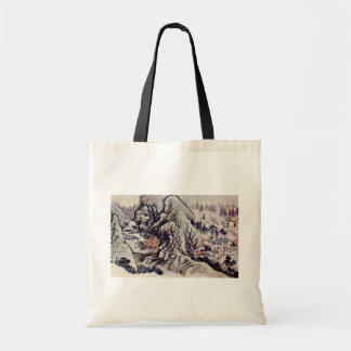 The Peach Blossom Source By Tao Chi Tote Bag