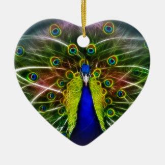 The Peacock Dreamcatcher Christmas Ornament