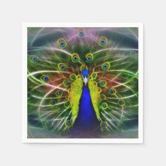 The Peacock Dreamcatcher Disposable Serviette