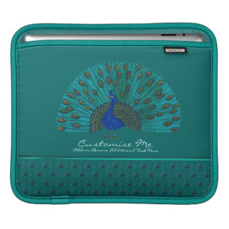 The Peacock iPad Sleeve