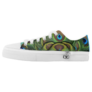 The Peacock Printed Shoes
