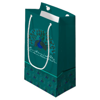 The Peacock Small Gift Bag