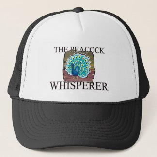 The Peacock Whisperer Trucker Hat