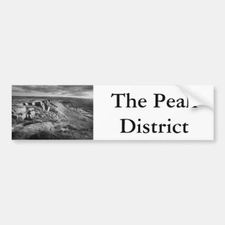 The Peak District scenic Bumper Sticker