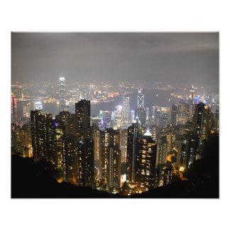 "The Peak View of Hong Kong 20""x16"" Photo Print"