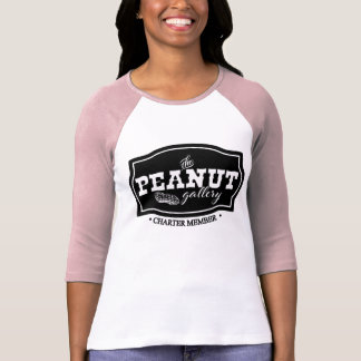 The Peanut Gallery, Charter Member, Raglan T-Shirt