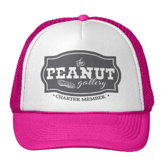 The Peanut Gallery, Charter Member, Trucker Hat