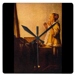 The Pearl Necklace', Jan_Dutch Masters Wallclocks