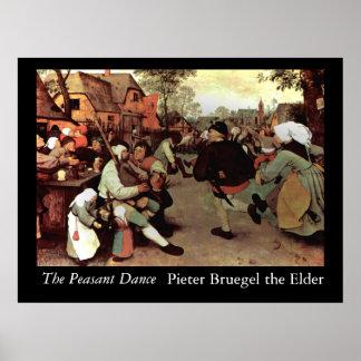 The Peasant Dance - 1568 Poster