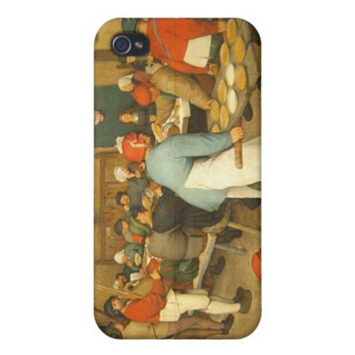 The Peasant Wedding - 1568 iPhone 4/4S Cases