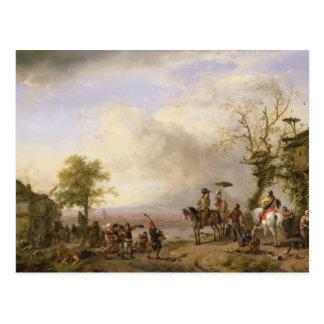 The Peasant Wedding Postcard
