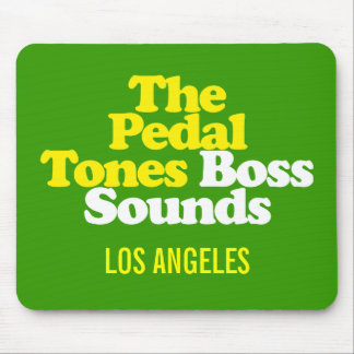 The Pedal-Tones Boss Sounds - Mouse Pad