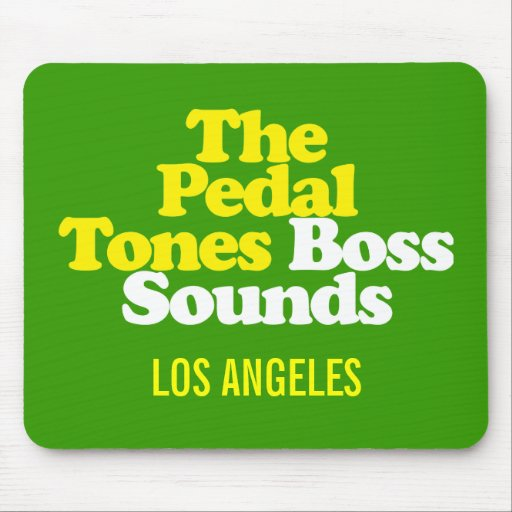 The Pedal-Tones! Boss Sounds - Mouse Pad