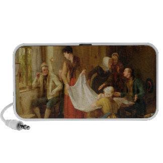 The Pedlar, 1814 (oil on panel) iPhone Speaker