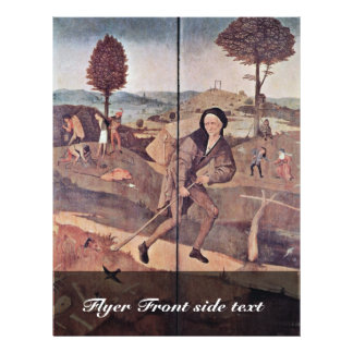 The Pedlar By Hieronymus Bosch Best Quality Personalized Flyer