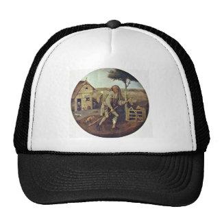 The Pedlar.,  By Hieronymus Bosch Trucker Hat