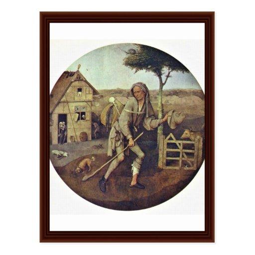 The Pedlar.,  By Hieronymus Bosch Postcard