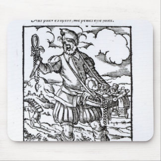 The Pedlar, published by Hartman Schopper Mouse Pad