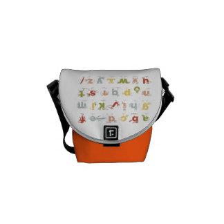 The Pelican Alphabet Commuter Bags