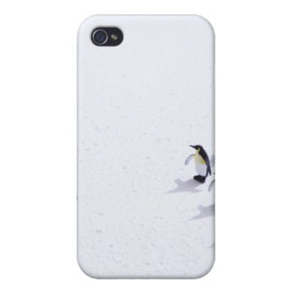 The penguins playing soccer iPhone 4 cover