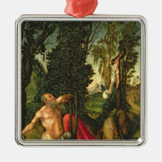 The Penitence of St. Jerome, 1502 Christmas Ornament