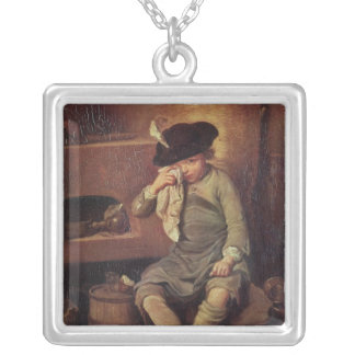 The Penitent Child Silver Plated Necklace