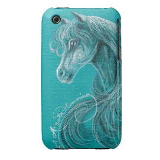 The Pensive Arabian Horse iPhone 3 Covers