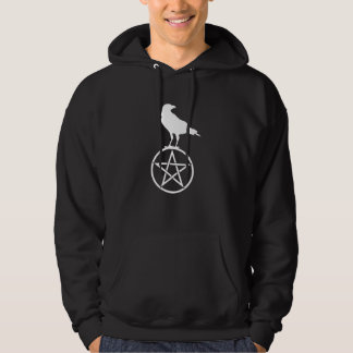 The Pentacle and The Raven Hoodie