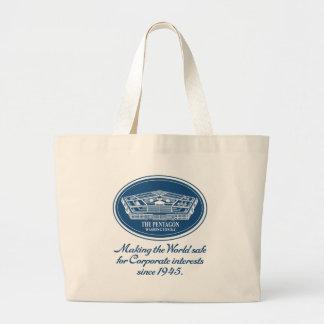The Pentagon Jumbo Tote Bag